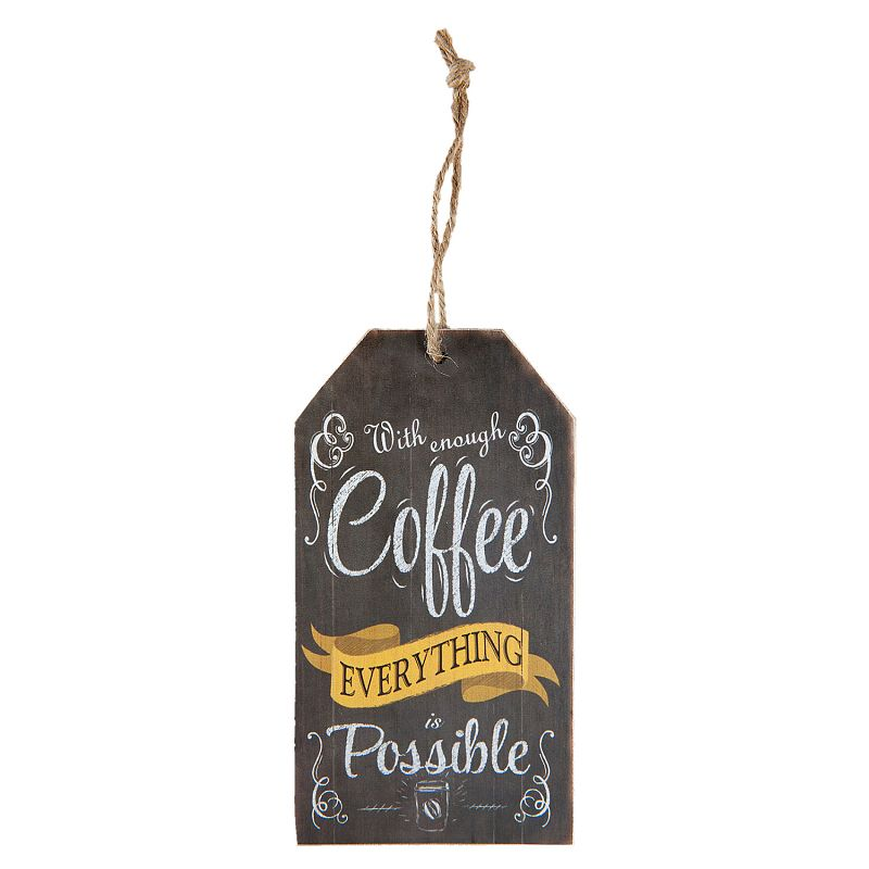 Cedulka COFFEE EVERYTHING POSSIBLE