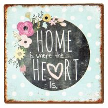 Magnetka HOME IS WHERE HEART IS